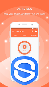 Safe Security –  Antivirus, Booster, Phone Cleaner 3