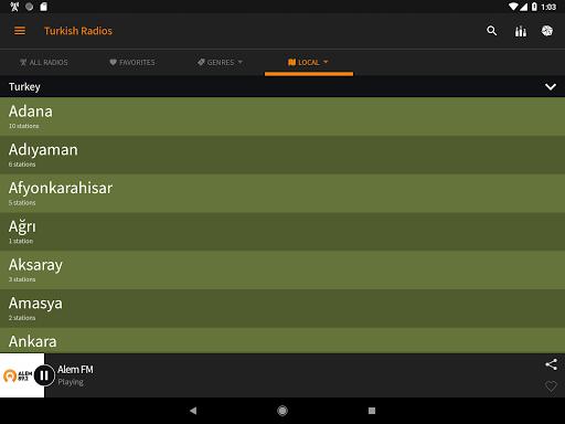 Radyo Kulesi - Turkish Radios 2.3.0 Screenshots 12