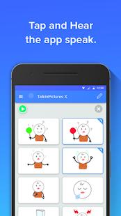 Talk in Pictures X - AAC speaking app Screenshot