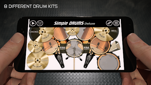 Simple Drums Deluxe - The Drum Simulator 1.5.1 screenshots 1