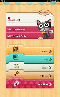 Period Tracker - Period Calendar Ovulation Tracker Screenshot