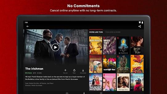 Netflix Mod Apk Premium + AD Free (4K /HDR / All-Region) 13