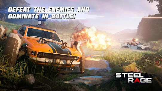 Steel Rage : Mech Cars PvP War, Twisted Battle 2021 2
