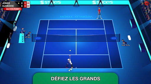 Télécharger gratuit Stick Tennis Tour APK MOD 2