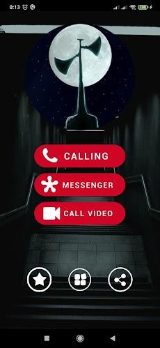 Fake Call From Siren Head - Scary Video Callのおすすめ画像4