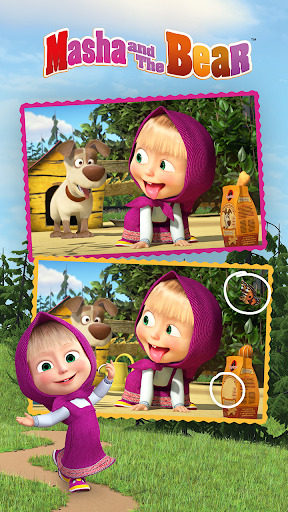 Masha and the Bear - Spot the differences  screenshots 3