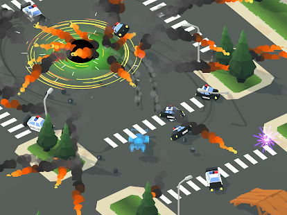 Smash racing: drive from cops, make an epic crash! Screenshot