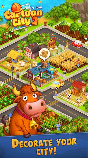 Cartoon City 2:Farm to Town.Build your home,house modavailable screenshots 6