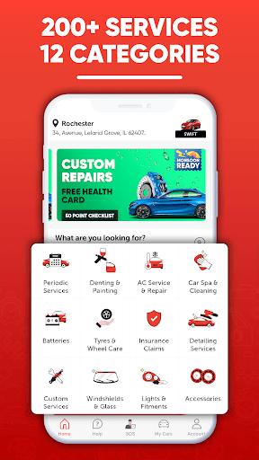 GoMechanic - Car Services, Battery & Tyres apktram screenshots 1