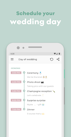The Big Day - Wedding Planner & Wedding Countdownのおすすめ画像5