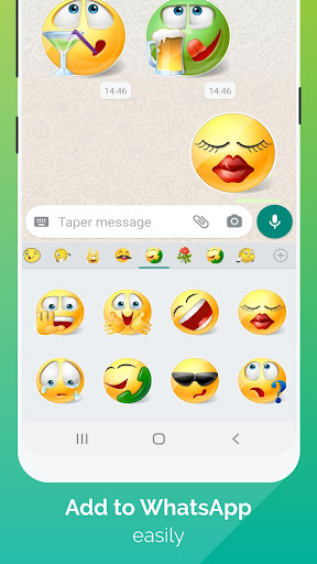 WhatSmiley - Smileys, GIF, emoticons & stickers Apk 1