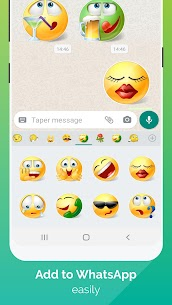 WhatSmiley – Smileys, GIF, emoticons & stickers 1