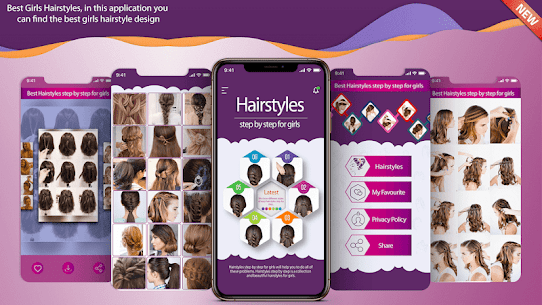 Hairstyles Step by Step For Pc – Install On Windows And Mac – Free Download 1