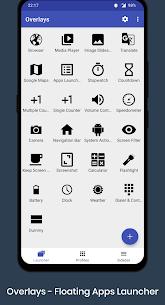 Overlays – Floating Apps Launcher Mod Apk v7.5 (Pro) 1