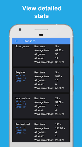 Minesweeper - classic game 9.0 screenshots 3