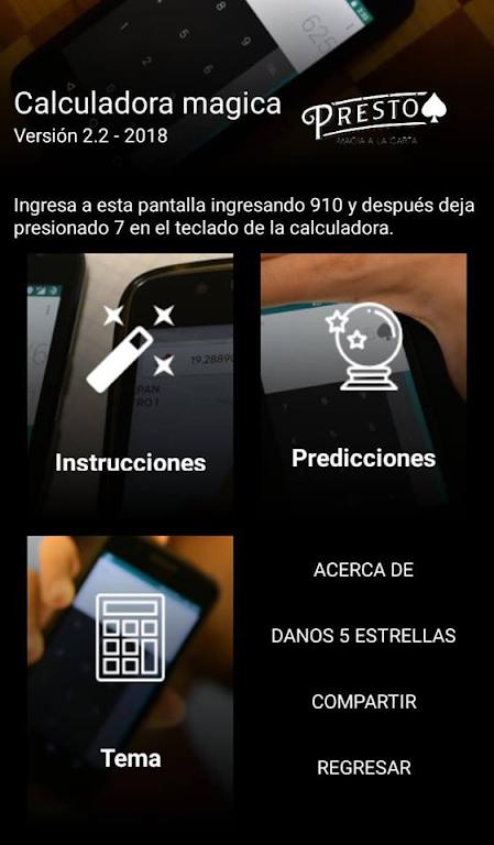 Magic trick: Magic calculator Presto  poster 1