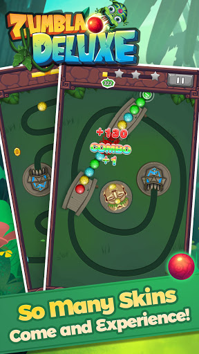 Zumbla Deluxe - Classic Zumbla Puzzle Games screenshots 3