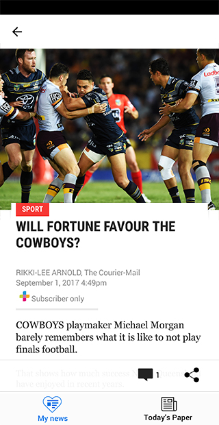 The Courier-Mail  poster 1