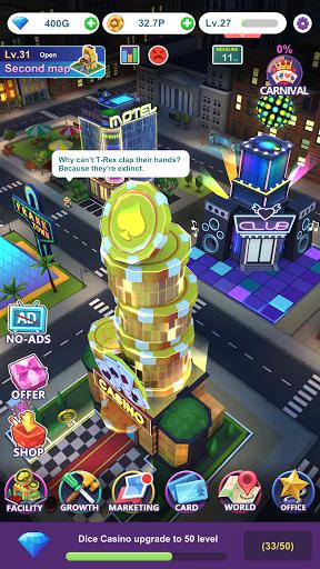 Crazy Night:Idle Casino Tycoon 0.27 screenshots 6