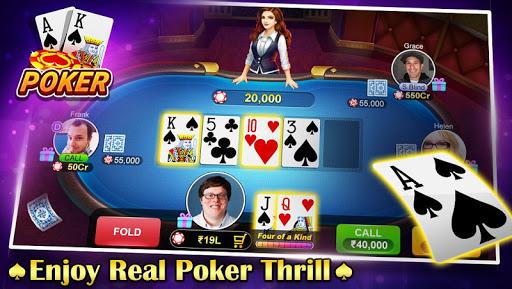 teen patti flush: 3 patti poker screenshot 3