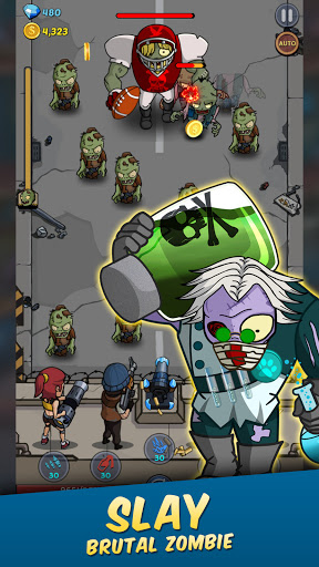 Zombie War: Idle Defense Game 20 screenshots 12