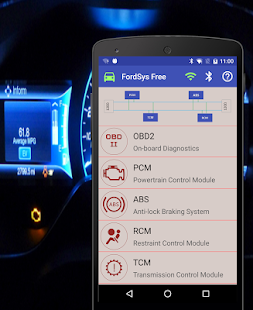 FordSys Scan Free 1.10 Screenshots 3