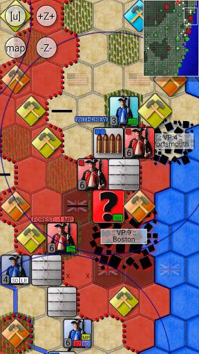 Code Triche American Revolutionary War 1775 (turn-limit)  APK MOD (Astuce) screenshots 1