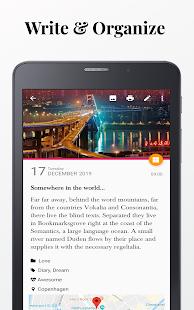 Diaro - Diary, Journal, Mood Tracker with Lock 3.91.0 Screenshots 11