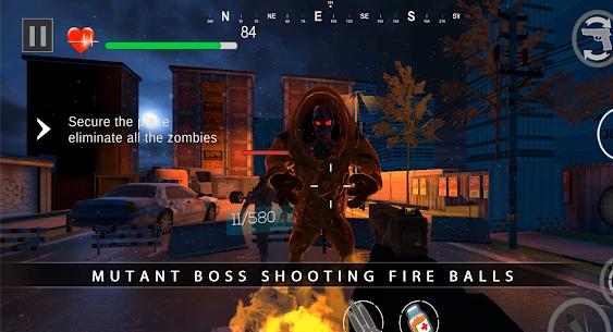 Zombie Shooter Dead Terror Mod Apk (God Mode) 1