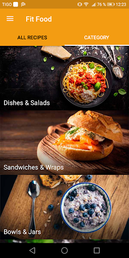 Foto do Fit Food: Quick & Easy Healthy Recipes
