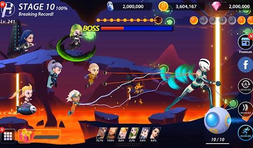 Idle Hero Z Mod Apk- Summon & Merge Cyberpunk (Unlimited Gold) 4