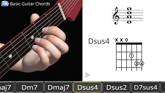 Guitar 3D - Basic Chords 1.2.7