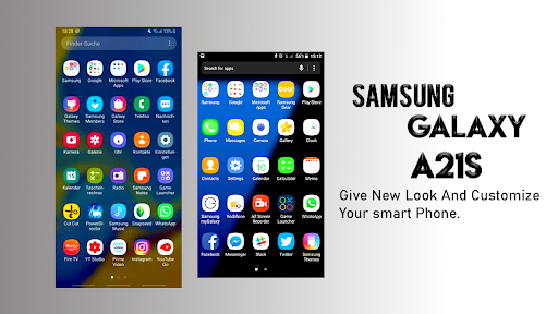 Samsung Galaxy A21s Launcher: Themes & Wallpapers screenshots 4