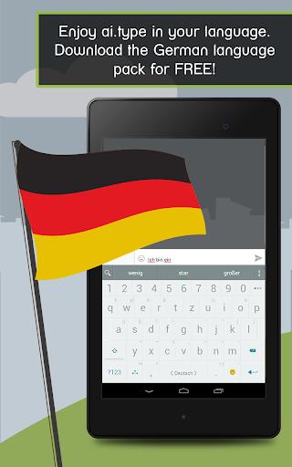 German for ai.type Keyboard  screenshots 10