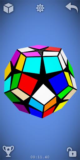 Magic Cube Puzzle 3D  screenshots 7