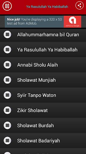 Sholawat Nabi MP3 Lengkap Offline  screenshots 3