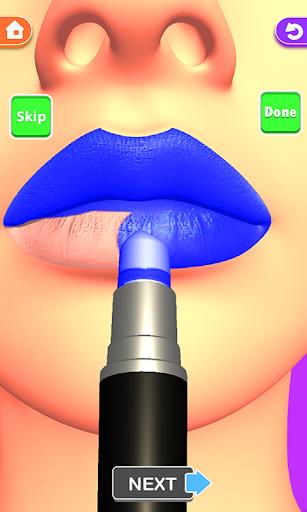 Lips Done! Satisfying 3D Lip Art ASMR Game apkmr screenshots 18