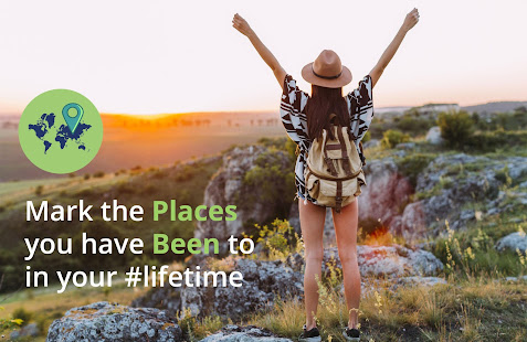 Places Been - Travel Tracker & Visited Places Map