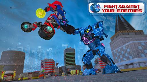 Ball Robot Transform Bike War : Robot Games 2.0 screenshots 3
