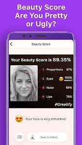 Greetify: Beauty Score 0.2.10