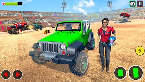 Demolition Derby Prado Jeep Car Destruction 2021 1.4 Screenshots 1
