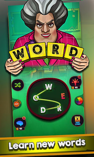 Scary Teacher : Addictive Word Game 2.1 Screenshots 1