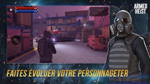 Code Triche Armed Heist: jeu de guerre et d'action TPS (Astuce) APK MOD screenshots 5