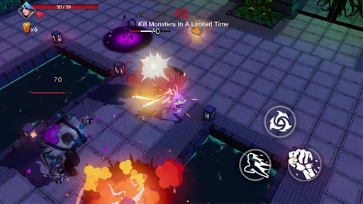 Game of Gods:Best Roguelike ACT Games  screenshots 1