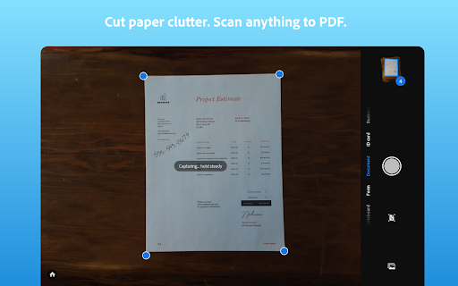 Adobe Scan: PDF Scanner with OCR, PDF Creator android2mod screenshots 9