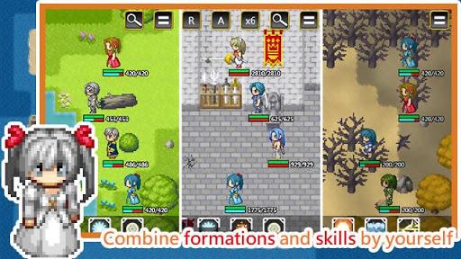 Unlimited Skills Hero - Single Role Play RPG screenshots 2