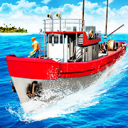 Fishing Boat Driving Simulator : Ship Games