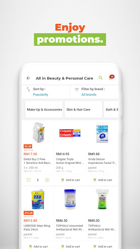 HappyFresh: Grocery, Food Delivery Online Shopping 3.33.1 screenshots 6