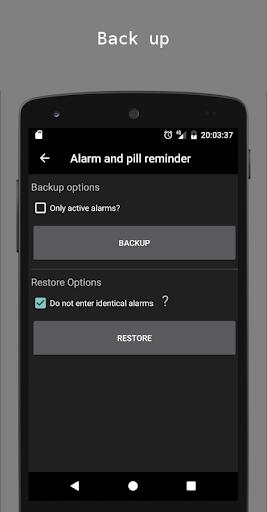 Alarm and pill reminder modavailable screenshots 7