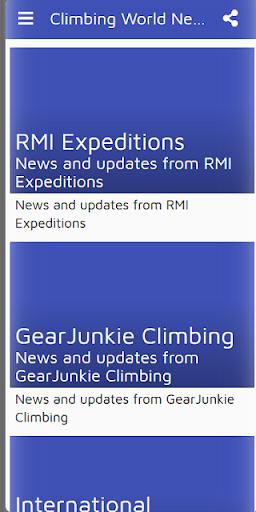climbing world news - ifsc , uiaa, fisu, olympics screenshot 1